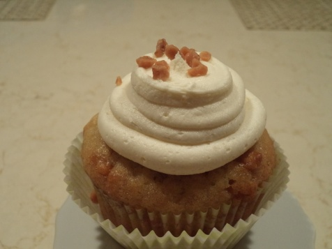 Banana Butterscotch Cupcakes 005