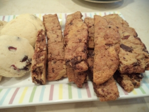 Chocolate Pecan Biscotti