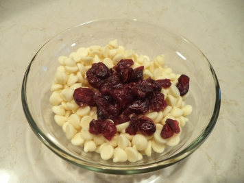 White Chocolate and Craisins