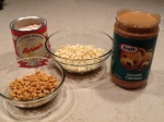 Step 2 - combine and melt these 4 ingredients for filling