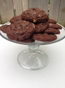 Sinfully Decadent Triple Chocolate Cookies