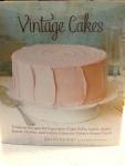 Vintage Cakes baking book
