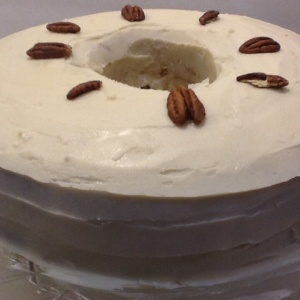 Butter Pecan Chiffon. Cake