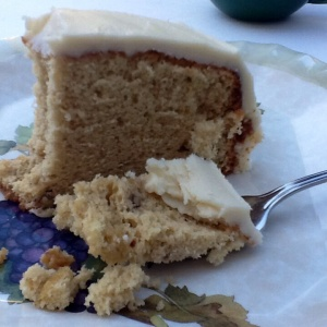 Delicious Butter Pecan Chiffon Cake