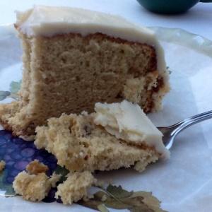 Delicious Butter Pecan Chiffon Cake