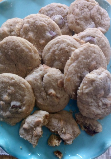 Rollo & PB Chip Cookies