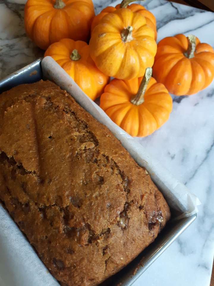 Spiced Pumpkin Loaf – Let the Holiday Baking Begin!