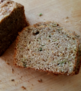 Zucchini Bread awaiting Butter
