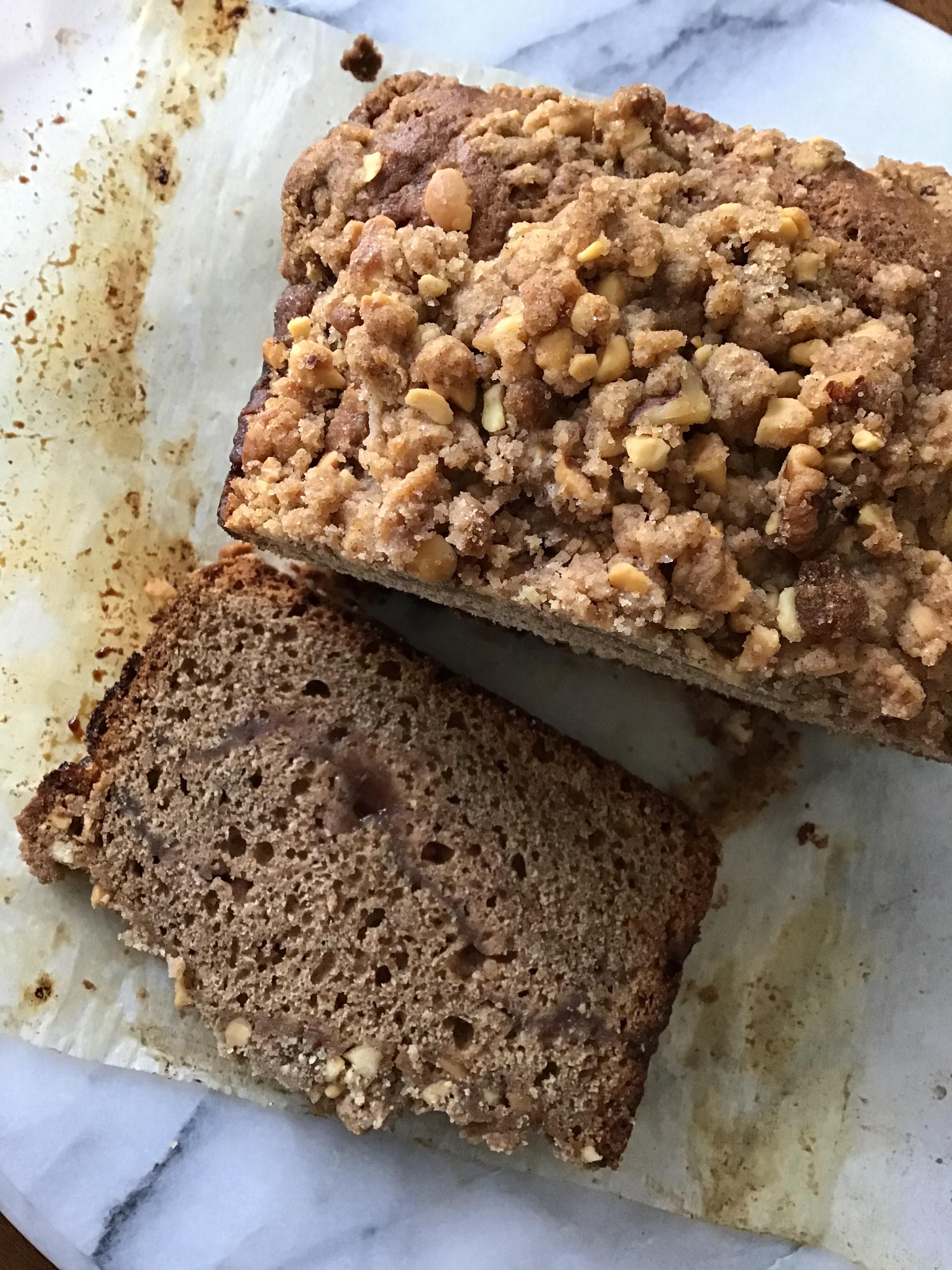 cinnamon jam loaf